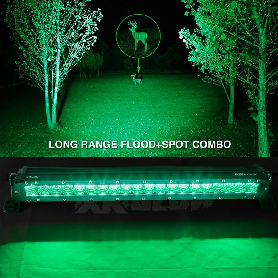 Hunting Amp Fishing Edition 20inch High Power Work Light 12v
