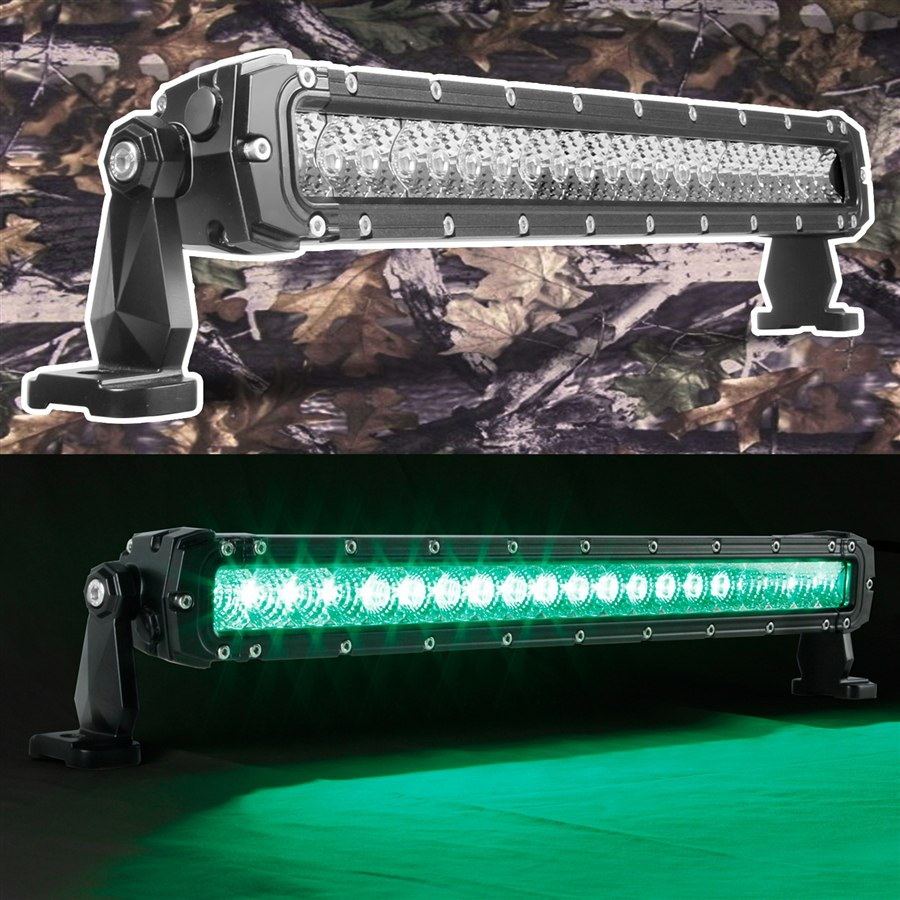 Hunting & Fishing Edition 20inch High Power Work Light 12V