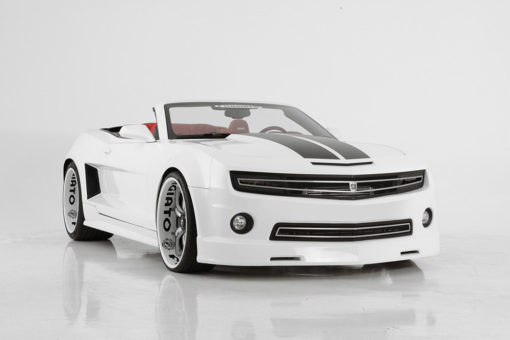 Phantom hidden headlight grille Lower bumper grille for 2010-2013 Chevrolet Camaro fits V6 models (Matte black finish)