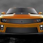 Phantom mesh grille Lower bumper grille for 2012-2015 Chevrolet Camaro fits Zl1 models (Matte black finish)