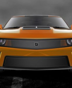 Phantom mesh grille Lower bumper grille for 2010-2013 Chevrolet Camaro fits V8 models (Matte black finish)