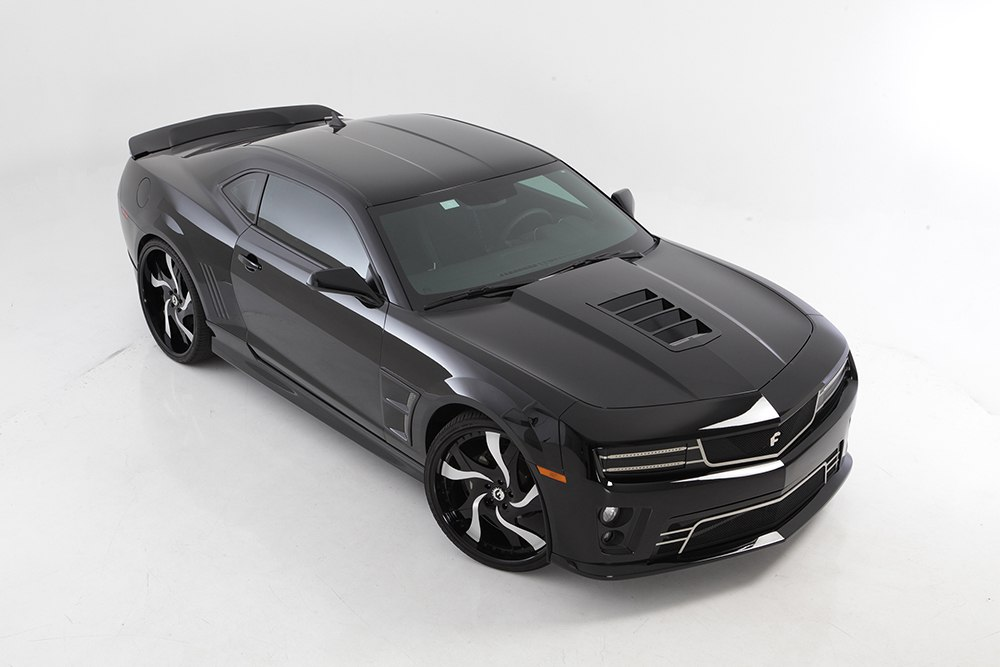 Tomahawk Hood Vent Grille For 2010 2013 Chevrolet Camaro