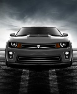 Phantom urban edition grille Lower bumper grille for 2012-2015 Chevrolet Camaro fits Zl1 models (Matte black finish)