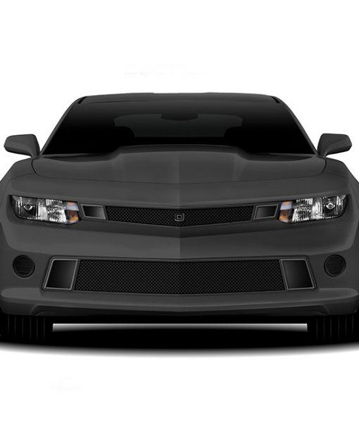 GT Strada Primary Grille for 2014-2015 Chevrolet Camaro fits All models (Matte black finish)