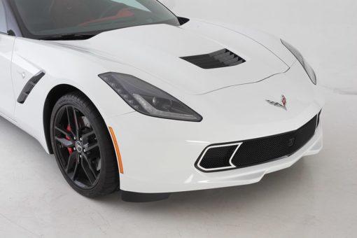 GT Strada Primary Grille for 2014-2015 Chevrolet Corvette Stingray fits All models (Matte black finish)