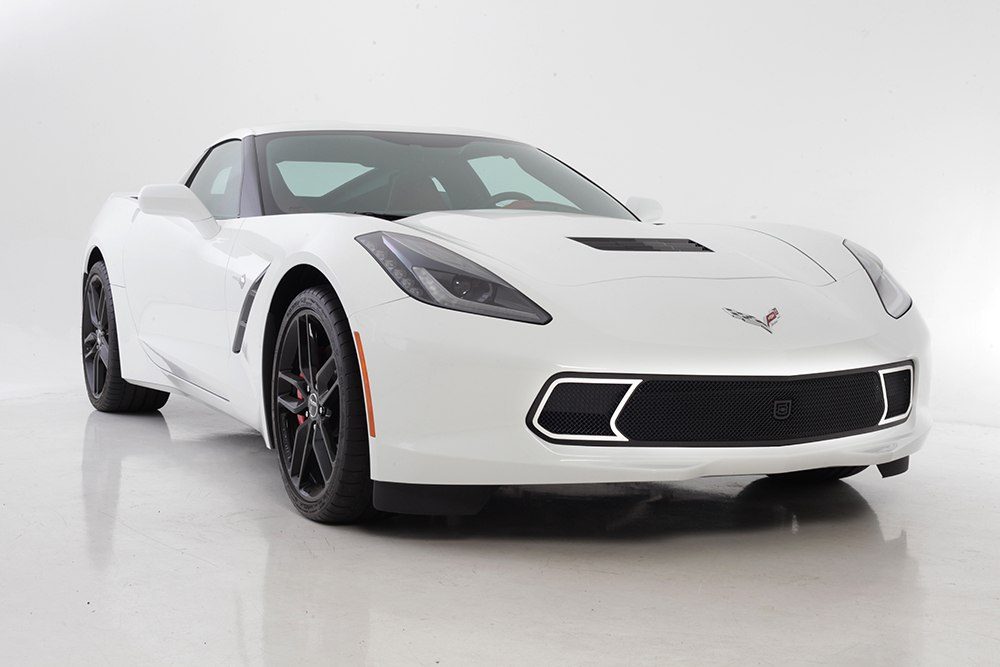 Gt Strada Primary Grille For 2014 2015 Chevrolet Corvette Stingray