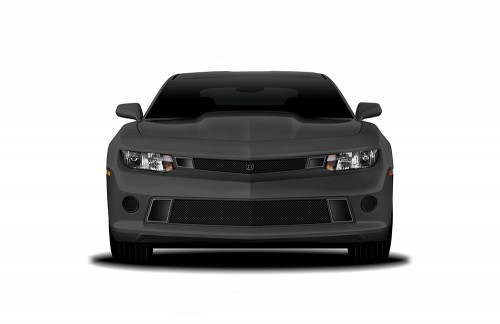 GT Corsa Primary Grille for 2014-2015 Chevrolet Camaro fits All models (Matte black finish)