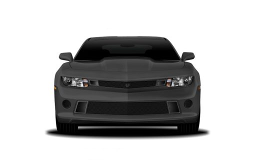 GT Corsa Lower bumper grille for 2014-2015 Chevrolet Camaro fits V6 models (Matte black finish)