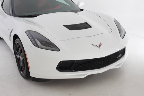 GT Corsa Primary Grille for 2014-2015 Chevrolet Corvette Stingray fits All models (Matte black finish)