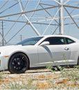 ZL1 Wickerbill Rear Spoiler for 2012-2013 Chevrolet Camaro fits Zl1 models (Matte Black finish) 3