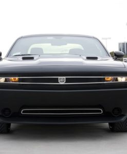 1971 for Challenger Lower bumper grille for 2008-2010 Dodge Challenger fits 2008-2010 models (Matte black finish)