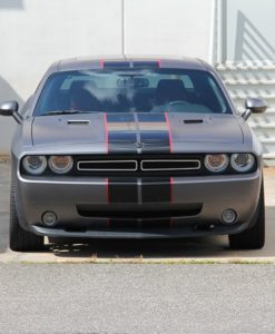 1971 for Challenger Primary Grille for 2008-2014 Dodge Challenger fits All models (Matte black finish)