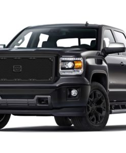 Sniper Truck Grille Primary Grille for 2014-2015 Gmc Sierra 1500 fits All models (Matte Black finish)