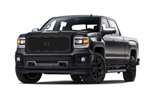 Sniper Truck Grille Primary Grille for 2011-2013 Gmc Sierra 2500HD/3500/Denali fits All models (Matte Black finish)