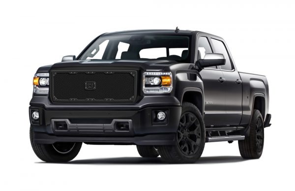 Sniper Truck Grille Primary Grille for 2011-2013 Gmc Sierra 2500HD/3500/Denali fits All models (Matte Black finish) 1