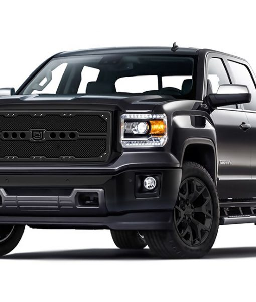 Sniper Truck Grille Lower bumper grille for 2007-2014 Gmc Yukon/Yukon XL fits All Except Hybrid models (Matte Black finish)