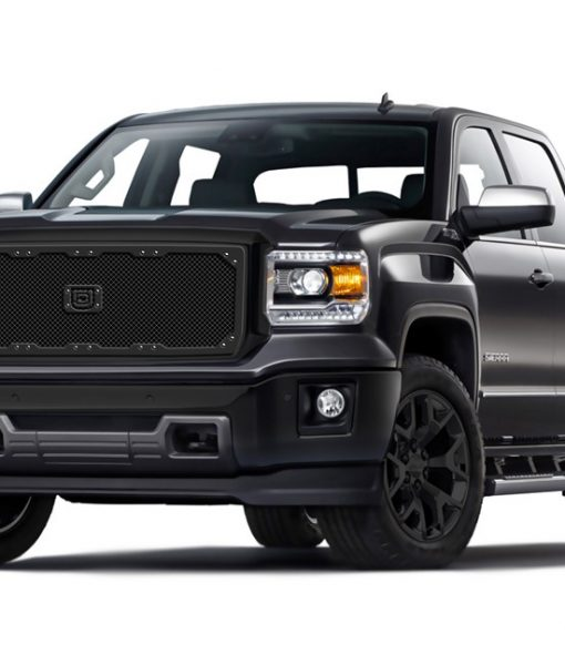 Sniper Truck Grille Lower bumper grille for 2007-2014 Gmc Yukon/Yukon XL fits All Except Hybrid models (Polished finish)