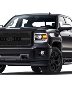 Sniper Truck Grille Primary Grille for 2007-2010 Gmc Sierra 2500HD/ 3500 fits All models (Matte Black finish)