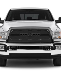 Sniper Truck Grille Primary Grille for 2013-2015 Dodge Ram 1500 fits All models (Matte Black finish)