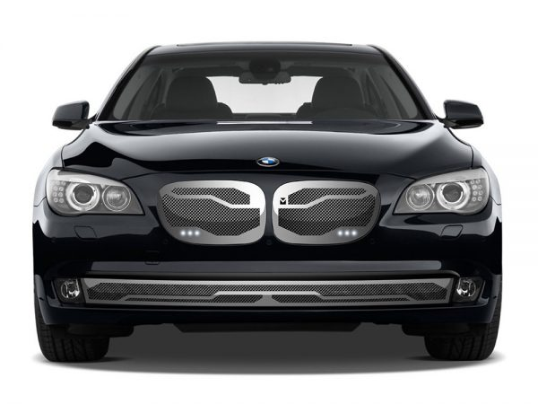 Macaro Primary Grille for 2002-2006 Bmw 745 fits All models (Matte black finish)