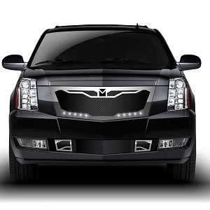 Macaro Primary Grille for 2007-2014 Cadillac Escalade fits Will Not Fit Premium And Platinum Edition models (Matte black finish) 1