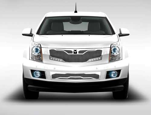Macaro Primary Grille for 2010-2014 Cadillac SRX fits All models (Matte black finish)