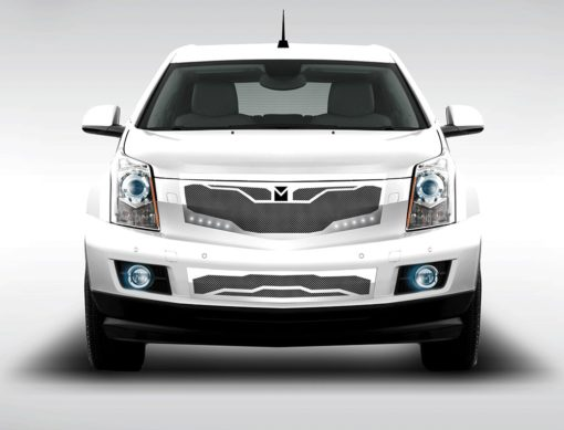 Macaro Primary Grille for 2010-2014 Cadillac SRX fits All models (Triple Chrome finish)