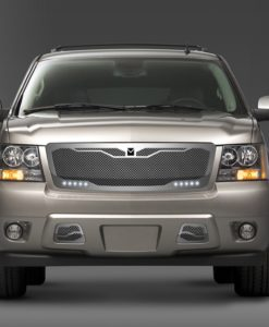 Macaro Primary Grille for 2007-2014 Chevrolet Tahoe/ Avalanche fits All models (Matte black finish)