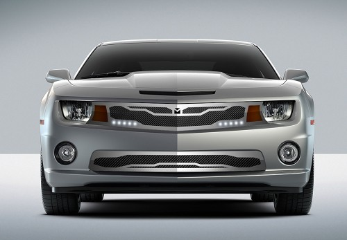 Macaro Primary Grille for 2010-2013 Chevrolet Camaro fits All models (Matte black finish)