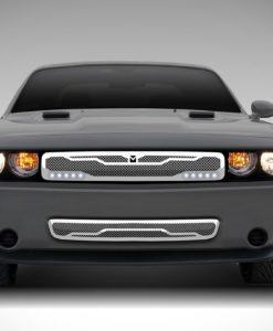 Macaro Primary Grille for 2008-2014 Dodge Challenger fits All models (Matte black finish)