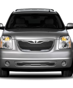 Macaro Primary Grille for 2007-2014 Gmc Yukon/ Denali fits All Except Hybrid models (Triple Chrome finish)