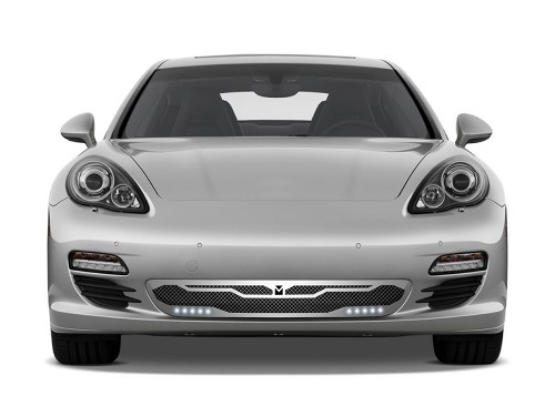 Macaro Primary Grille for 2010-2013 Porsche Panamera fits All models (Matte black finish)