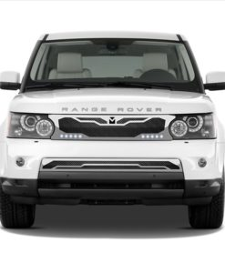 Macaro Primary Grille for 2005-2009 Range Rover Sport fits Sport models (Matte black finish)