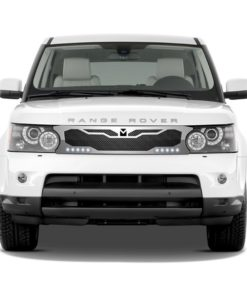 Macaro Primary Grille for 2010-2013 Range Rover Sport fits Sport models (Matte black finish)