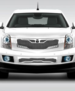 Macaro Lower bumper grille for 2010-2014 Cadillac SRX fits All models (Matte black finish)