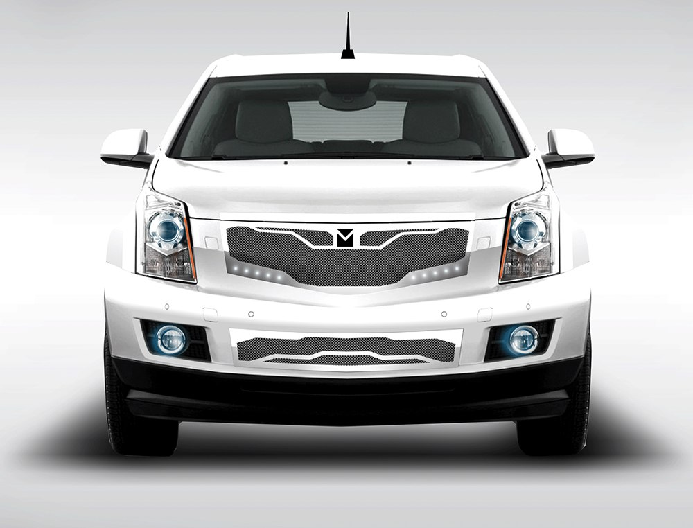 Macaro Lower Bumper Grille For 2010 2014 Cadillac Srx Fits