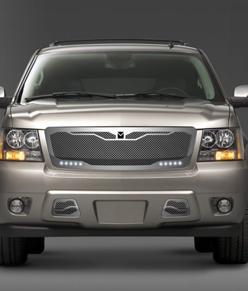Macaro Lower bumper grille for 2007-2014 Chevrolet Tahoe/ Avalanche fits All models (Matte black finish)