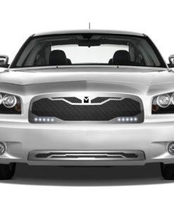 Macaro Lower bumper grille for 2005-2010 Dodge Charger fits All models (Triple Chrome finish)