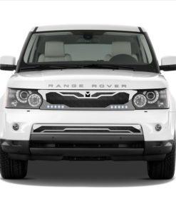 Macaro Lower bumper grille for 2005-2009 Range Rover Sport fits Sport models (Matte black finish)