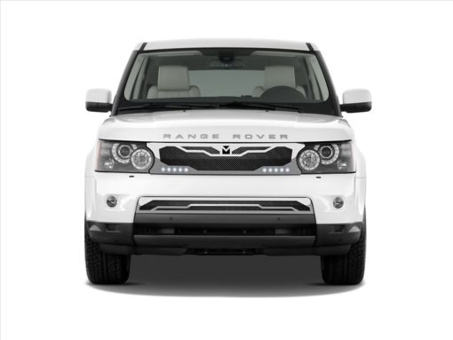 Macaro Lower bumper grille for 2005-2009 Range Rover Sport fits Sport models (Polished finish)