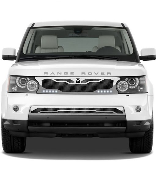 Macaro Lower bumper grille for 2005-2009 Range Rover Sport fits Sport models (Polished finish)