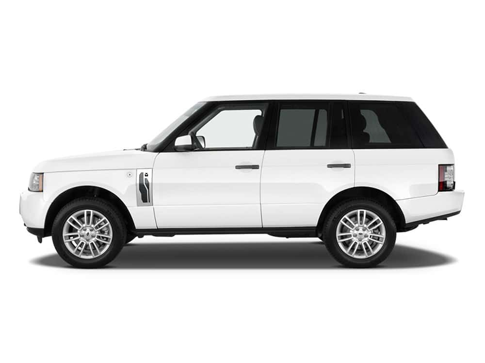Macaro Side Vents for 2003-2005 Range Rover All fits All Except Sport models (Polished finish)