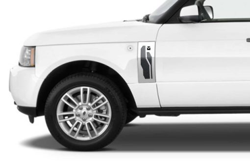 Macaro Side Vents for 2003-2005 Range Rover All fits All Except Sport models (Triple Chrome finish)