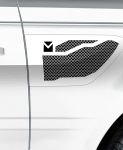 Macaro Side Vents for 2005-2009 Range Rover Sport fits Sport models (Polished finish)