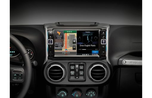 "X009 WRA Alpine 9"" in-dash Jeep Wrangler"