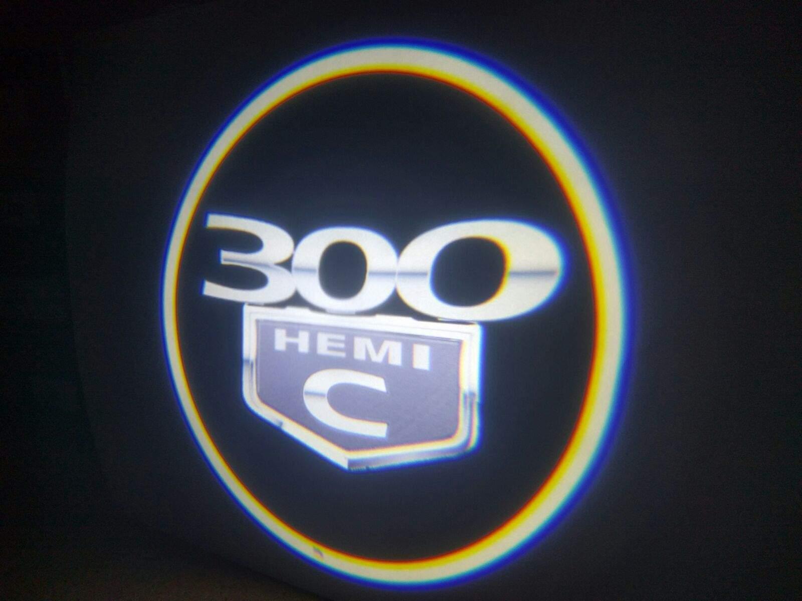 300 Hemi C LED Door Projector Courtesy Puddle Logo Light