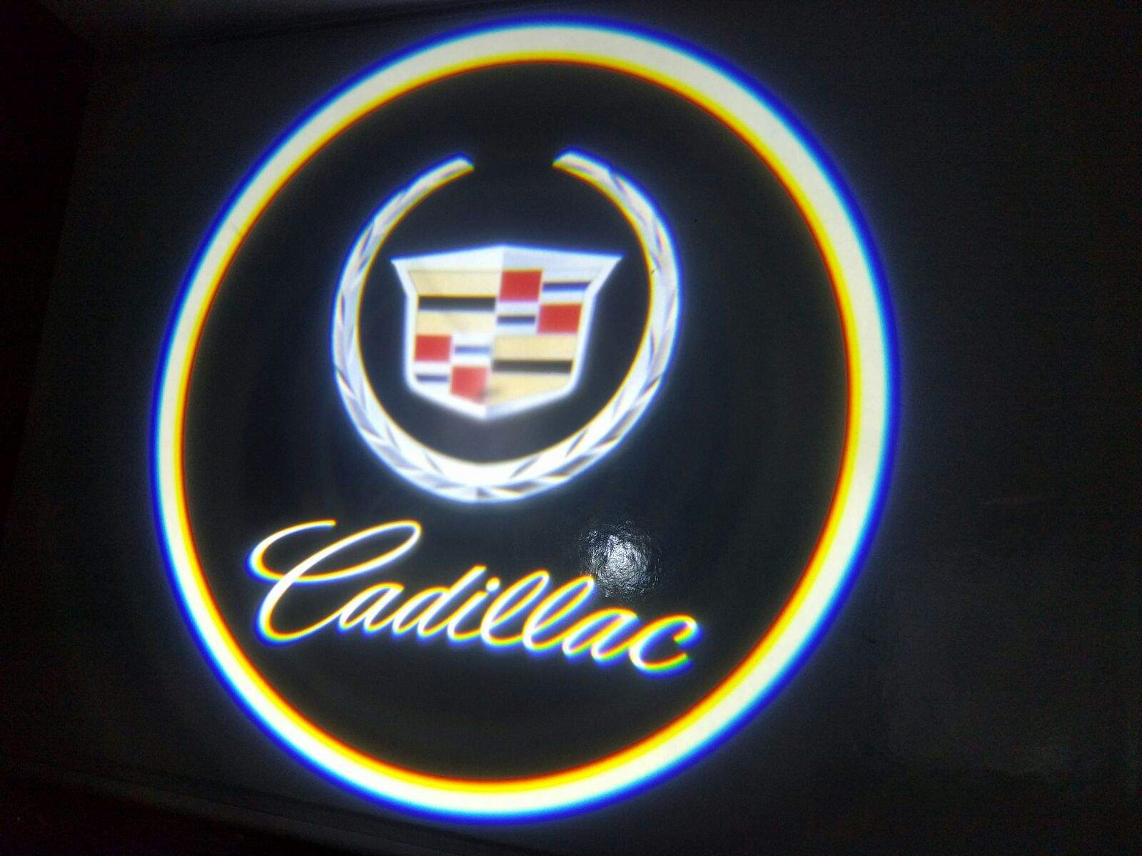 sc 1 st  Mr. Kustom & Cadillac Door Projector Courtesy Puddle Logo Light