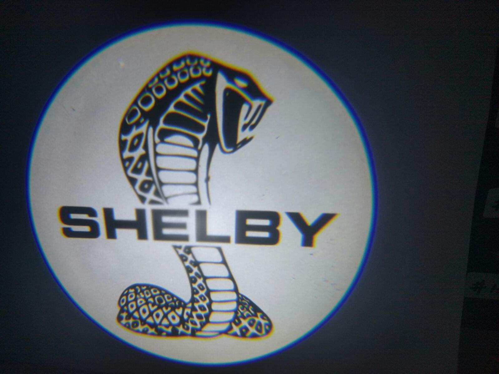 shelby cobra led door projector courtesy puddle logo light. Black Bedroom Furniture Sets. Home Design Ideas