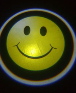 Smiley Face Door Projector Courtesy Puddle Logo Light
