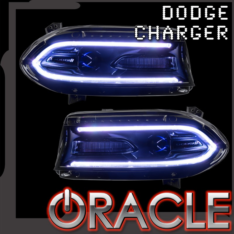 2015+ Dodge Charger ORACLE ColorSHIFT DRL Headlight ...